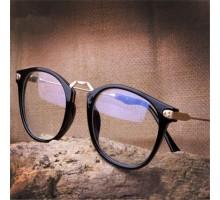クラシック男女おしゃれ海外超軽量近視メガネフレーム女子フルリム度なしブルーライトカットPC眼鏡大きいフレーム