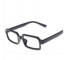 \最安値に挑戦/黒縁お洒落クラシック2017最新スクエア型フレーム男女通用伊達眼鏡フレーム多色レンズ無し