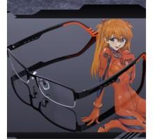 新世紀エヴァンゲリオンEVA 惣流・アスカ・ラングレー コンセプトメガネ オリジナルcosplayキャラクター眼鏡