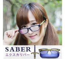 fate stay nightエクスカリバーsaber度なし取り付けやすいcosplayキャラクターメガネ眼鏡