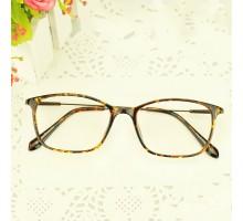 超軽量TR90エレガント度入りメガネ伊達メガネ度なしレンズ男女メンズ眼鏡細いフレーム鼈甲色クラシカルべっ甲柄スクエア型ダテメガネ大人っぽいおしゃれフレーム