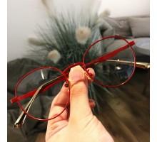 赤色最旬クラシカル赤縁 メガネおすすめボストンめがね丸いフレーム丸眼鏡レトロ伊達メガネ 赤黒ピンク青インスタ映えエレガント メガネ メタル製フルリム度入りレンズ度なしレッド