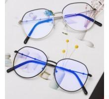 ブルーライトカット メガネおしゃれ度なしレンズ伊達眼鏡メンズ レディースPCめがね丸いフレーム度付きラウンド型バイカラー メガネ ファッション黒ぶちクラシカル