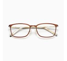 韓国メタル金属テンプルめがねTR90軽いフレーム眼鏡スクエア型伊達メガネ高級細いフレーム男女お揃いカップル度付きレンズ度なしファッション眼鏡大人っぽい