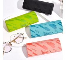 シンプル眼鏡ケース高級ピンク色携帯メガネケース メンズ レディース男性用 女性用インスタ映え耐衝撃青 黒 緑メガネ入れ サングラス収納
