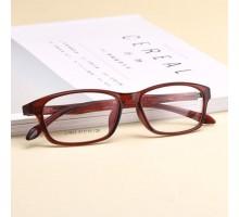 茶縁メガネ韓国茶色フレーム軽量度付きレンズ伊達眼鏡tr90セルフレームめがねスクエア型おしゃれメンズ黒いメガネ男女ブルーライトカット大人っぽいウェリントンめがね