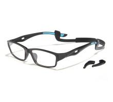 おしゃれスポーツtr90メガネ男性眼鏡フレーム滑り止めスポーツめがねバスケ運動サッカー軽量メガネバドミントン ランニング自転車度付き度無しレンズかっこいいスポーツメガネ