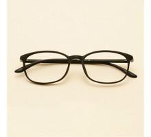 韓国おしゃれtr90超軽量度付きメガネ伊達眼鏡度なしレンズ丸めウェリントンめがね学生社会人レトロ細いフレーム男女カップル向けダテメガネべっこう柄鼈甲黒い