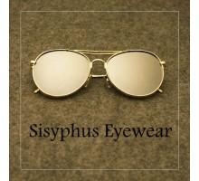水銀ミラー偏光ティアドロップ型サングラス男子メンズ芸能人おしゃれEXOエクソ眼鏡サングラス個性的ダブルブリッジメガネフレーム女子uvカットレンズ度なし金縁めがね