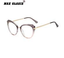 メガネおしゃれハリウッドセレブTR90軽量素材伊達メガネ個性的キャットアイメガネ黒ぶち赤いグレー コーヒー色フォックスブラックメガネ度付き