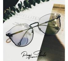 2019年トレンド サングラス下縁デザイン ファッション アンダーリム眼鏡UV400サングラス男女カラーレンズ韓国前衛的オシャレめがねメンズ レディース