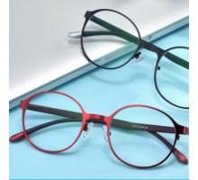 高級ブルーライトカット眼鏡 老眼鏡赤いフレーム ブラック老眼鏡 メガネ めがね リーディンググラス女性おしゃれ軽量エレガント丸いラウンド型シニアグラス レディース メタル製