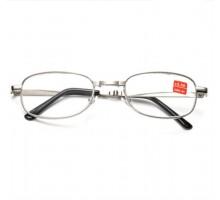 リーディンググラス折りたたみシルバー折畳み老眼鏡おしゃれ近く用メガネ男女便利疲労対策軽量老眼鏡男性用エレガント日本製非球面レンズめがね30代後半メガネ