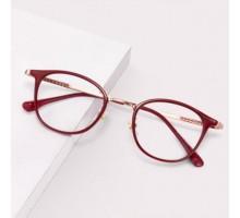 度付き可愛い伊達メガネ女子クラシック赤色めがね知的エレガント伊達眼鏡すっぴん隠し赤ピンク透明度なしインスタ映えメガネtr90超軽量レッドカラー