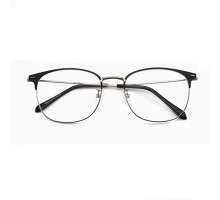 度付きレンズ眼鏡メガネ2019男子メンズおしゃれ女性度なし快適軽量伊達メガネ人気フルリムめがねウェリントン黒茶色フレームおすすめ細いサーモント型メガネ