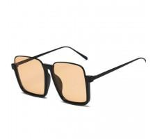 インスタ映え有名人サングラスおしゃれ茶色カラーレンズ眼鏡ファッションサングラス個性的アンダー リム大きいフレーム逆ナイロール偏光サングラスUV400