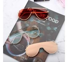 韓国アイドル芸能人メンズ人気サングラス女性個性的めがね一体形サングラス水銀レンズ偏光ミラーかっこいいファッション眼鏡超クールUVカットおすすめティアドロップ型