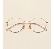 メタルフレーム度付きレンズ伊達眼鏡めがね女性度無しレンズ人気メガネ有名人韓国おしゃれ金属製ダテメガネ大きい顔ゴールド金縁メンズ男女ファッション丸いメガネおすすめラウンド型