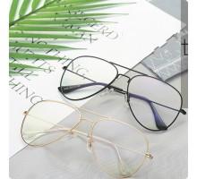 大きいフレームめがねビッグ眼鏡レディース ティアドロップ型メタル伊達メガネ大人っぽいコーデ用ダテメガネ上品メンズ度付きレンズ度なしオシャレめがねフルリムかっこいい
