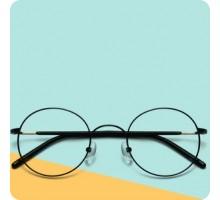 ボストン型伊達メガネ度付きレンズ女性パソコンめがねおしゃれ度なし丸いフレーム伊達眼鏡ラウンド軽量メガネ男性ゴールド色ピンク バイカラー可愛いメタル金属製
