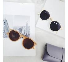 レトロ丸いサングラス女性おしゃれ偏光サングラス可愛い白いフレーム紫外線カット ラウンド型サングラス男女レディース軽量UVカットメガネ