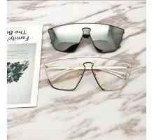 2019最新欧米人気サングラス一体型流行サングラス超クールUVカットレンズかっこいい眼鏡ミラーレンズ水銀おしゃれ男女メガネおすすめブランド紫外線カットサングラス