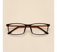 木製最旬TR90超軽量メガネフレーム眼鏡女性ウッド木質木材スクエア型めがね伊達メガネ度付きレンズ対応近視度なしファッション眼鏡男性男子