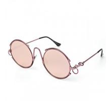 2018日本個性的メガネ全金属メタル製丸いラウンド型サングラスおしゃれミラーレンズ男女ファションめがねストリート紫外線対策サングラス眼鏡UVカット