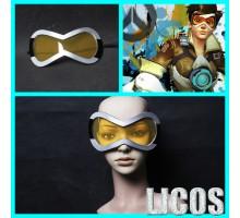 オーバーウォッチ 人気トレーサー (Tracer) / レナ・オクストン (Lena Oxton)キャラクター オレンジ色のゴーグルcosplayコスプレメガネ眼鏡めがね