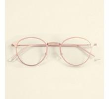 ローズゴールド眼鏡フレーム女子レトロ伊達メガネ細工精巧丸い丸型超軽量度いり度無しレンズダテメガネ眼鏡男性フルリム金属メタル製コーデ人気メガネ大人ラウンド型