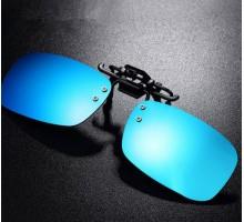 ブランド品メガネ男女通用おしゃれ超軽量近視対応眼鏡偏光取付式クリップ式レンズサングラス紫外線カットレンズ