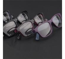62%OFF◆最新パソコン眼鏡度なしレンズメガネフレーム度付きレンズ対応黒縁ブラックPCメガネブルーライトカット男女目保護メガネ