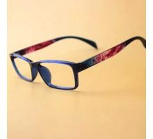 ⇒送料無料★最新人気超軽量TR90 黒縁フレーム眼鏡ブラック色フルリムデザイン近視対応ブルーライトカット度なし度いりPCメガネ