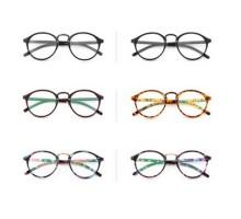 ブランド品超軽量度なしラウンド丸いクラシック風女子近視防止メガネブルーライトカットレンズ伊達メガネパソコン眼鏡目保護おしゃれ
