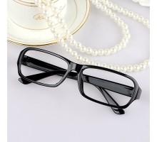ファッションおしゃれ必要 狭い小さいフレームスクエアレンズ無しメガネフレーム 男女眼鏡フレーム超軽量送料無料
