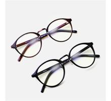 クラシックフレーム眼鏡度なしメガネ度付きレンズ対応女子超軽量TR90ブルーライトカット疲労対策パソコン目保護伊達メガネ