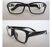 度なしメガネUVカット紫外線防止花粉対策防風眼鏡黒縁メガネ