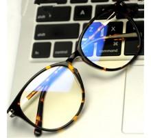 ブルーライトカット近視防止眼鏡メガネフレームおしゃれ女子ファッションクラシック大きいラウンド丸型度なしレンズ男子パソコン保護メガネ
