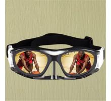専業バスケメガネ男子近視対応曇り止め目保護眼鏡スポーツ運動フレームメガネサッカー用