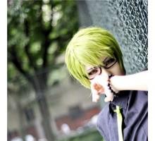 cosplay通用メガネ黒子のバスケ緑間真太郎コスプレイヤーナイロール眼鏡