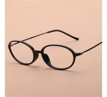 「ポイント100%還元」送料無料!美人達みんなかけている♪tr90伊達メガネフレーム女子文芸風オーバル型眼鏡おしゃれクラシック個性的小顔度ありレンズ対応細いフレーム