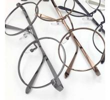 今だけ56%OFF★メガネフレーム-金属メタル丸いラウンド-レンズなし伊達眼鏡フレーム-男女通用お洒落クラシックめがねフレーム