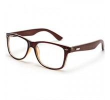 ウッドフレームメガネ男性木製伊達めがねクラシック手作りファッションメンズ眼鏡高品質